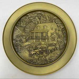 Currier & Ives American Homestead Plate